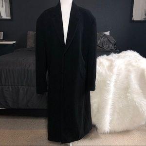 Andrew Fezza Men's Overcoat Long